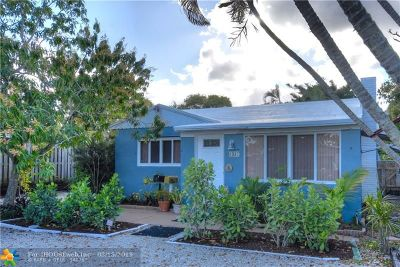 Fort Lauderdale Single Family Home For Sale: 1337 NE 3rd Av
