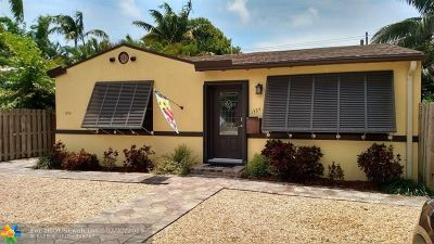 Fort Lauderdale Single Family Home For Sale: 1324 NE 16th Ter