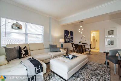 Fort Lauderdale Rental For Rent: 341 N Birch Rd #306
