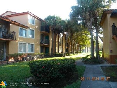 Plantation Condo/Townhouse For Sale: 10701 Cleary Blvd. #102