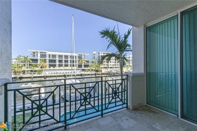 Fort Lauderdale Condo/Townhouse For Sale: 410 Hendricks Isle #203