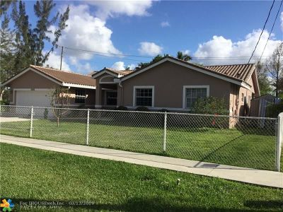 Plantation Single Family Home Backup Contract-Call LA: 12400 SW 2nd St