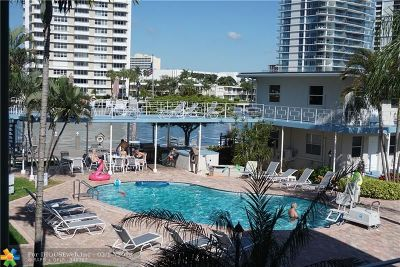 Fort Lauderdale FL Condo/Townhouse For Sale: $300,000