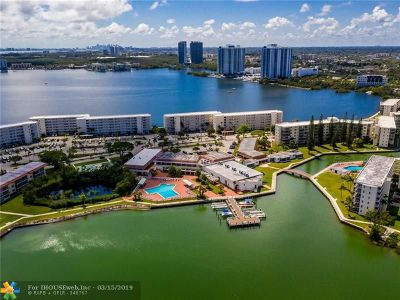 Aventura Condo/Townhouse For Sale: 2999 Point East Dr #C207