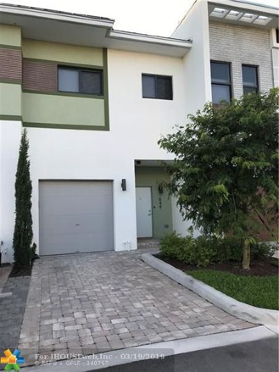 Plantation Condo/Townhouse For Sale: 849 NW 45th Ter #17B