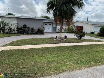 Sunrise Single Family Home For Sale: 8650 NW 24 Street