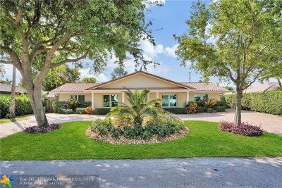 Coral Ridge, Coral Ridge 21-50 B, Coral Ridge Add, Coral Ridge Country Club Single Family Home For Sale: 2708 NE 37th Dr
