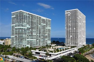 Fort Lauderdale Condo/Townhouse For Sale: 2200 S Ocean Ln #2302