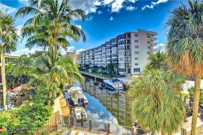 Fort Lauderdale Condo/Townhouse For Sale: 4800 Bayview Dr #302