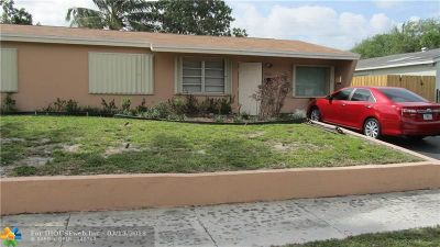 Broward County Single Family Home For Sale: 7020 Liberty St