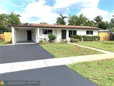 Pompano Beach Single Family Home For Sale: 1248 SW 2nd Ter