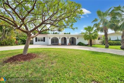 Pompano Beach Single Family Home For Sale: 3406 Barton Road