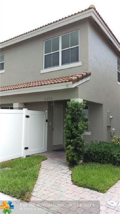 Miramar Single Family Home For Sale: 5305 SW 126th Ter