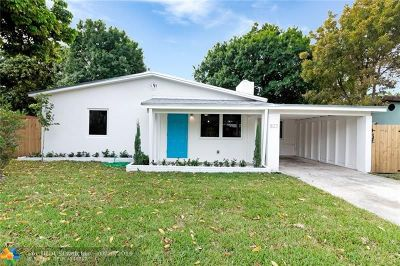 Fort Lauderdale Single Family Home For Sale: 822 NE 16th Ct