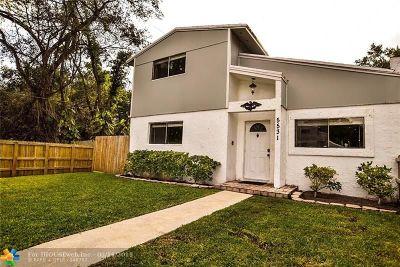 Dania Beach Single Family Home Backup Contract-Call LA: 5531 SW 43 Te