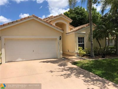 Coral Springs Single Family Home For Sale: 11205 NW 53rd Ct