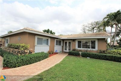 Coral Springs Single Family Home For Sale: 8300 NW 15th Ct
