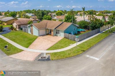 Pembroke Pines Single Family Home Backup Contract-Call LA: 8501 NW 4th St