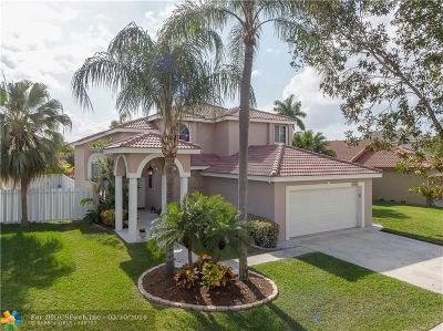 Pembroke Pines Single Family Home For Sale: 17602 SW 8th Ct