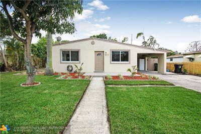 Fort Lauderdale Single Family Home For Sale: 421 SW 25th Ave
