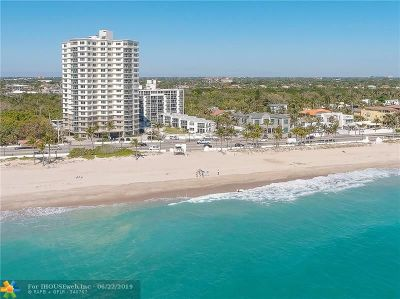 Fort Lauderdale Condo/Townhouse For Sale: 1151 N Fort Lauderdale Beach Blvd #2C