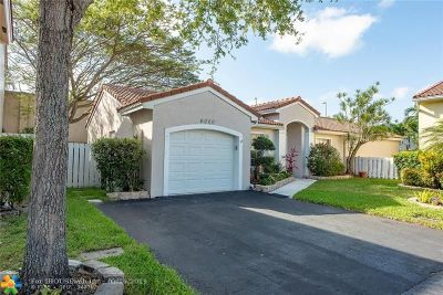 Coconut Creek Single Family Home For Sale: 6000 NW 44th Ln