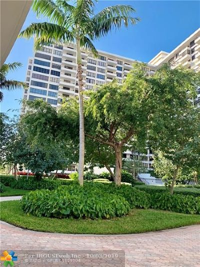 Hallandale Condo/Townhouse For Sale: 600 Three Islands Blvd #910
