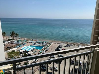 Hallandale Condo/Townhouse For Sale: 3180 S Ocean Dr #1102