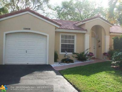 Sunrise Single Family Home Backup Contract-Call LA: 12608 NW 12th Ct