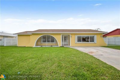 Miami Single Family Home For Sale: 10720 SW 166th St