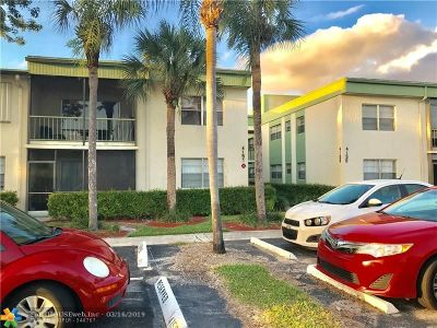 Coral Springs Condo/Townhouse For Sale: 4151 NW 90th Ave #106