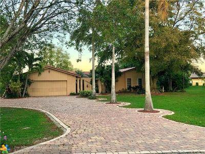 Coral Springs Rental For Rent: 3901 NW 101st Dr