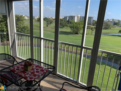 Pompano Beach Condo/Townhouse For Sale: 2851 S Palm Aire Dr #602