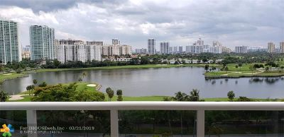 Aventura Condo/Townhouse For Sale: 3675 N Country Club Dr #1108