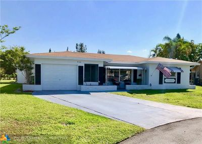Tamarac Single Family Home For Sale: 6108 NW 68th Ter