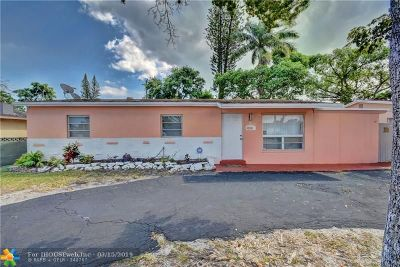 Dania Beach Single Family Home For Sale: 4214 SW 48th Ct