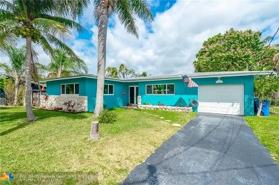 Oakland Park Single Family Home For Sale: 1841 NW 32nd Street