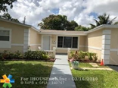 Lauderdale Lakes Single Family Home For Sale: 4291 NW 35th Ter