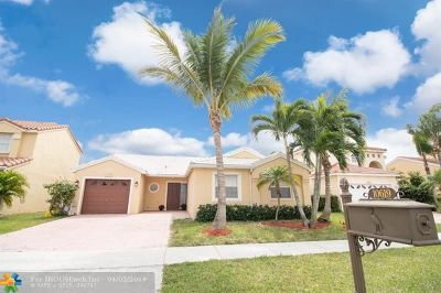 Boca Raton Single Family Home For Sale: 10619 Plainview Cir