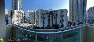 Hollywood Condo/Townhouse For Sale: 3000 S Ocean Dr #1018