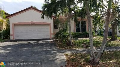 Cooper City Single Family Home For Sale: 10226 SW 58th St