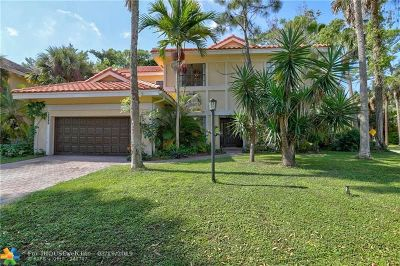 Coral Springs Single Family Home For Sale: 3600 High Pine Dr