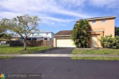 Sunrise FL Single Family Home For Sale: $289,000