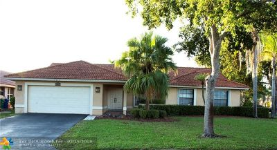 Coral Springs Single Family Home For Sale: 11817 NW 2nd St