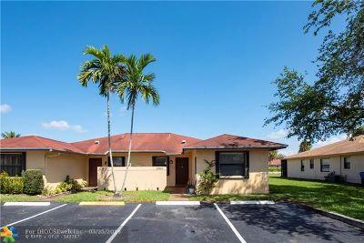 Sunrise FL Condo/Townhouse For Sale: $239,000