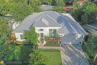Fort Lauderdale Single Family Home For Sale: 1235 SE 13th Terrace