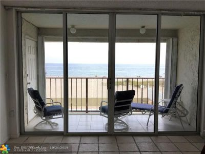 Lauderdale By The Sea Condo/Townhouse For Sale: 4636 El Mar Dr #201