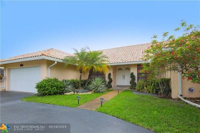 Coral Springs Single Family Home For Sale: 9160 NW 49