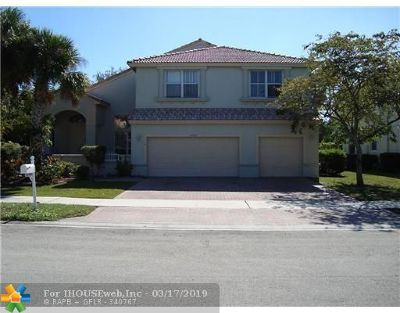 Coral Springs Rental For Rent: 10730 NW 56th Ct