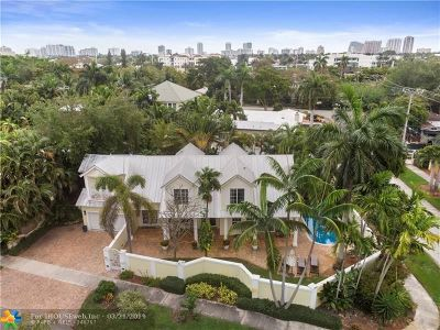 Fort Lauderdale Single Family Home For Sale: 500 NE 17th Way
